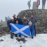June for the 3 peaks challenge, Ben Nevis
