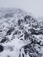 Boulder Field, Mount Saint Helens photo