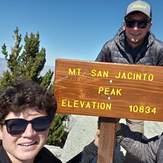 James Alvernaz & son's Gino and Jared. Sunday 9/29/19, Mount San Jacinto Peak