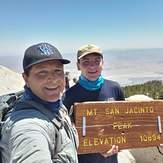 James Alvernaz & son Gino 7/5/2020, Mount San Jacinto Peak