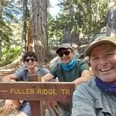 James Alvernaz & son's Jared and Gino 7/26/20, Mount San Jacinto Peak