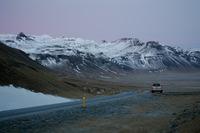 Mountains of Western Iceland, Snaefellsjokull photo