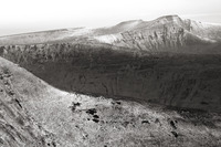 Light snow on Pen y Fan photo