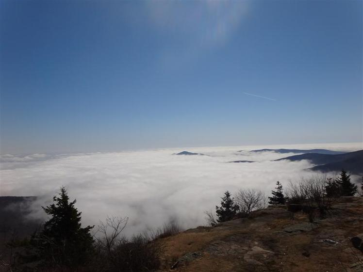 VIEW FROM SUMMIT OF WITTENBERG MOUNTAIN