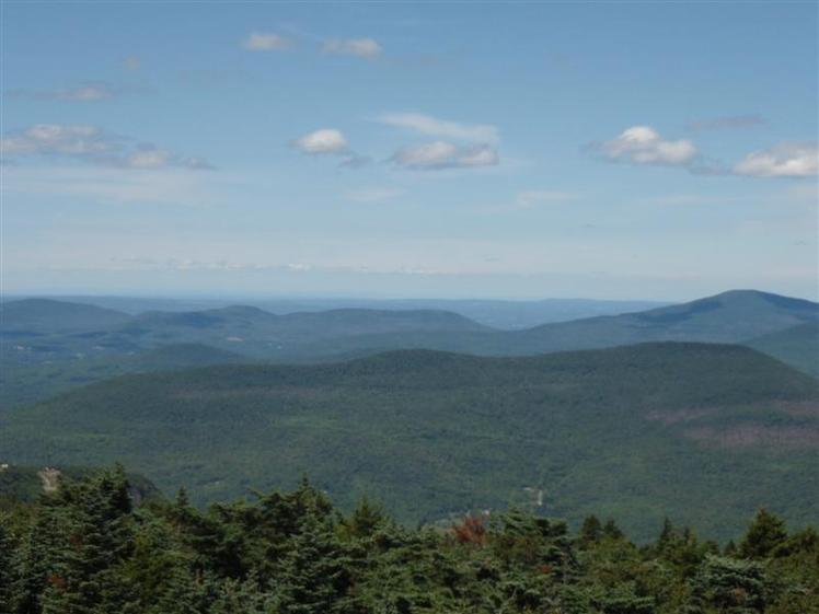 VIEW FROM HUNTER MOUNTAIN FIRE TOWER, Hunter Mountain (New York)