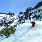 skiing Almanzor, Pico Almanzor