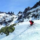 skiing Almanzor