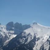 The higher peaks of Olympus, Mount Olympus