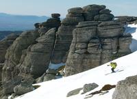 Skiing through Tablas de la Ley (Urbión), Pico Urbión photo
