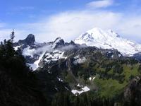 Mount Rainier from Barrier Peak photo