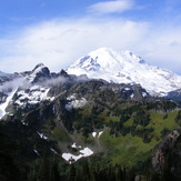 Mount Rainier from Barrier Peak