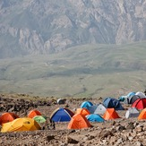 Camp 3 of damavand, دماوند