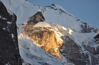 Khare Sunsetet, Mera Peak photo