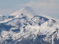 desde la Argentina Volcan Villarrica de Chile photo