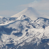 desde la Argentina Volcan Villarrica de Chile