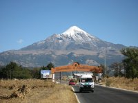 Pico de Orizaba (Citlaltepetl) from Tlachichuca  photo