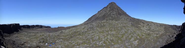 Top Crater, Montanha do Pico