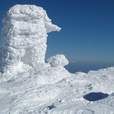 On the top of mountain Ossa, Mount Olympus