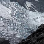 glaciar cara este del volcán lanín, Volcan Lanin