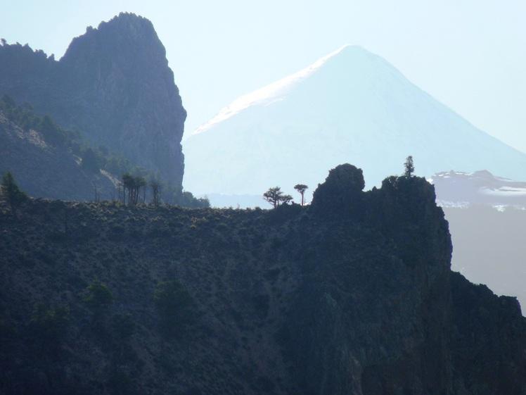 el lanin en tinieblasssss, Volcan Lanin
