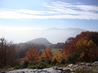From 1240m alt the view of Mt Olympus, Paiko photo