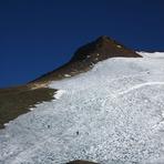 Crossing El Plomo Glacier