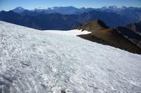 El Plomo Glacier crossing photo