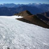 El Plomo Glacier crossing