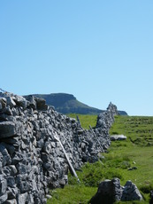 Penyghent in the sunshine, Pen-y-ghent photo