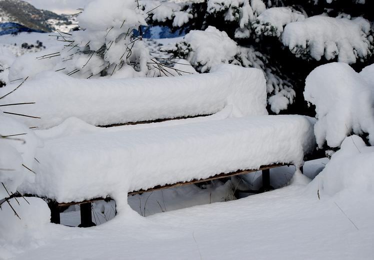 Winter to TSAPOURNIA, Erymanthos
