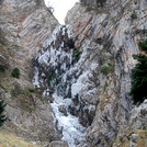 Tsapournia's waterfalls 1350 m