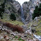 Gremistos falls  1350 m, Erymanthos