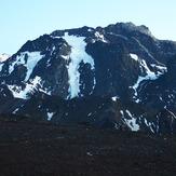 Cerro Tolosa y el glaciar del hombre cojo