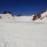 sabalan peak lake, سبلان