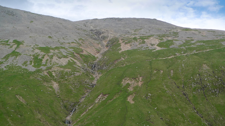 Route up Ben Nevis
