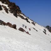 climbers in sabalan, سبلان