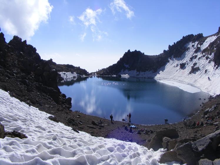 lake of peak sabalan, سبلان
