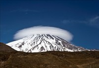 Cap of Damavand photo