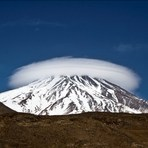 Cap of Damavand, دماوند