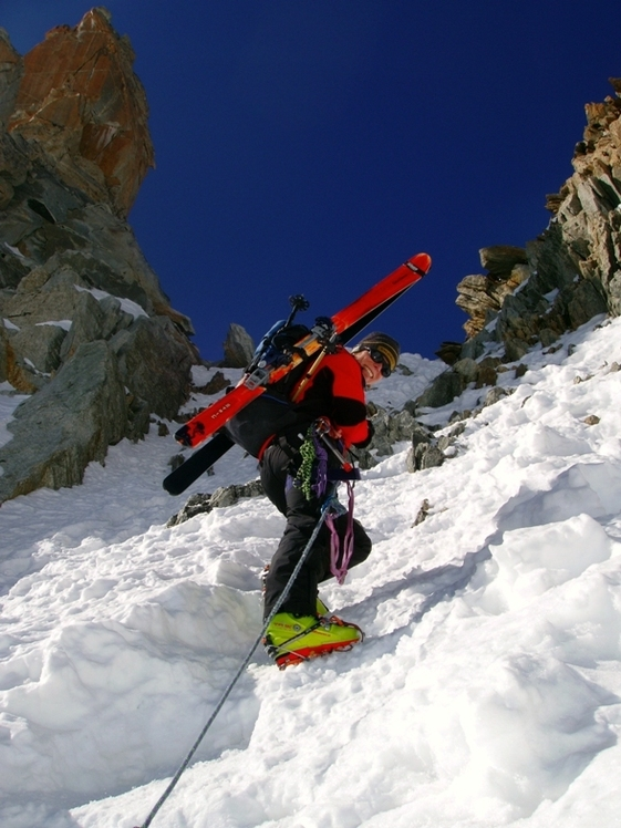 Ali Saeidi NeghabeKoohestaN, Le Châtelet (Mont Blanc)