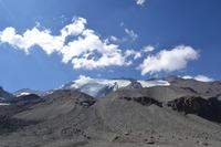 Mt. El Plomo during summer photo