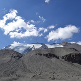 Mt. El Plomo during summer