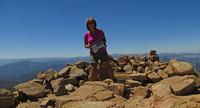 Solo on Freel Peak photo