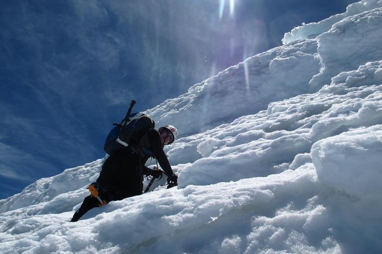 ascendiendo al Volcan Osorno, Osorno (volcano)