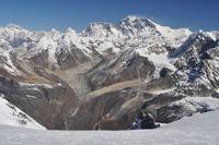 Everest and Lhotse from Mera Peak, Mount Everest photo