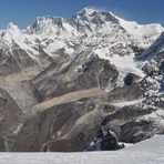Everest and Lhotse from Mera Peak, Mount Everest