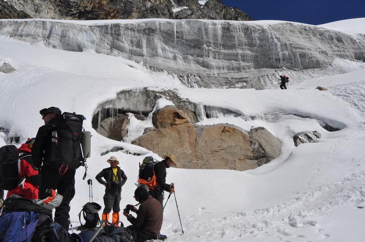Mera glacier, Mera Peak
