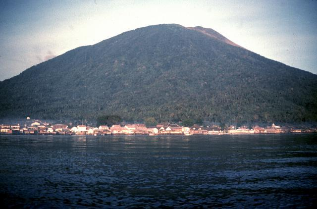 Gamalama Mountain Information