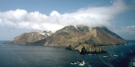 Buldir Volcano weather