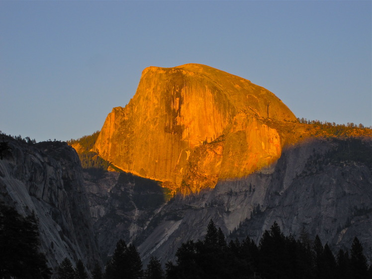 Half Dome weather